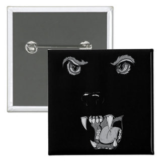 Panther 15 Cm Square Badge