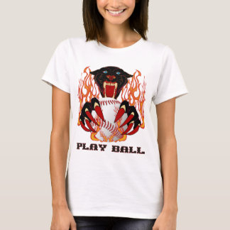 Panther-Baseball-1White-T T-Shirt
