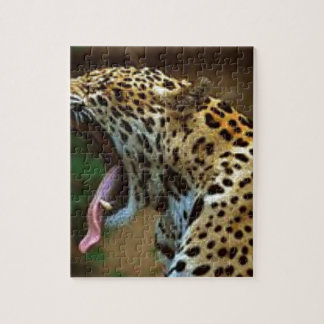 Panther Bearing Teeth Jigsaw Puzzle