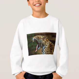 Panther Bearing Teeth Sweatshirt