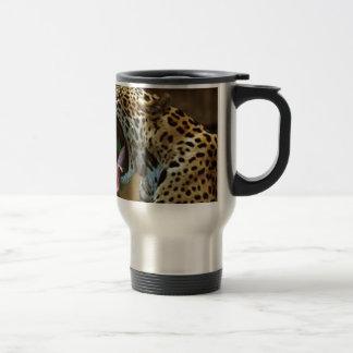 Panther Bearing Teeth Travel Mug