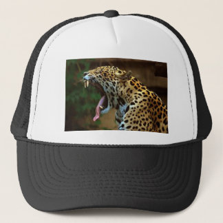 Panther Bearing Teeth Trucker Hat