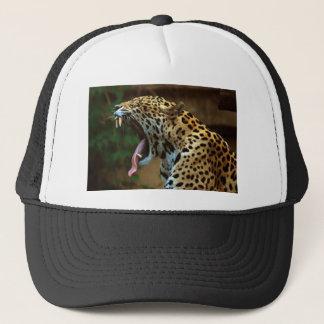 Panther Bearing Teeth Trucker Hat