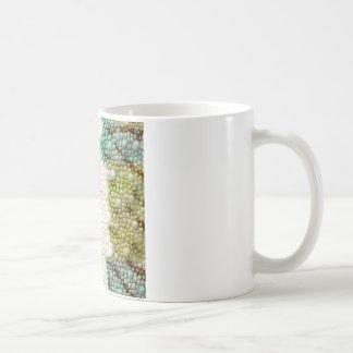 panther chameleon skin detail coffee mug