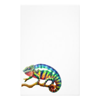 Panther Chameleon Stationery