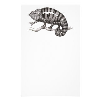 Panther Chameleon Study Stationery