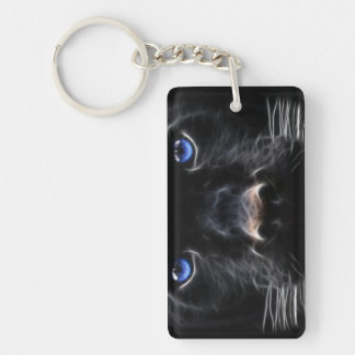 Panther Face Keychain