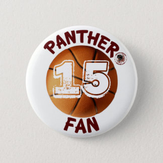 Panther Fan Basketball Button sponsored by BABC