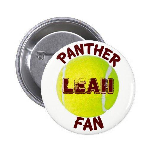 Panther Fan Tennis Button