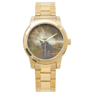 Panther gold, covered unisex, watch, for sale ! watch