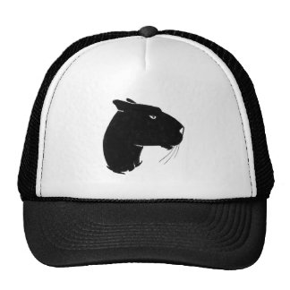 Panther head profile trucker hat