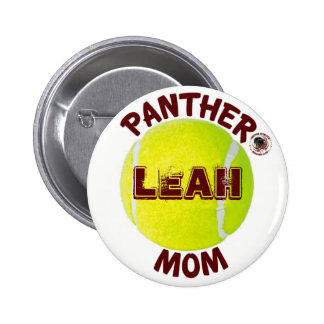 Panther Mom Tennis Button sponsored by BABC