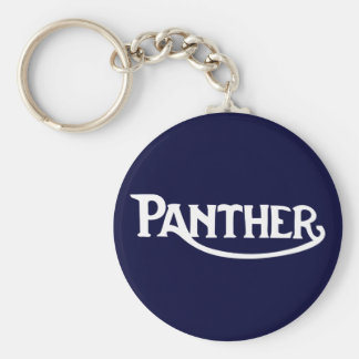 Panther Motorbike Classic Vintage Hiking Duck Key Chains