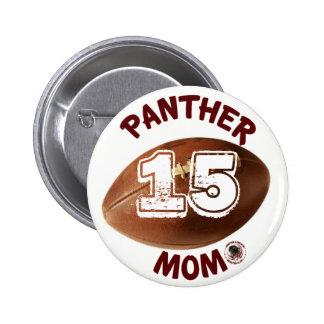 Panther Mum Football Button sponsored by BABC