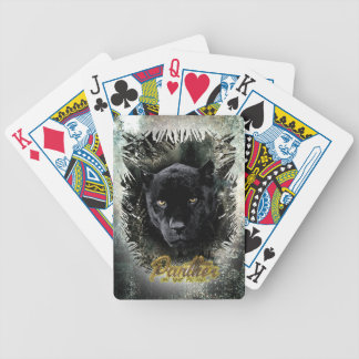 """Panther on the Prowl"" Bicycle Playing Cards"