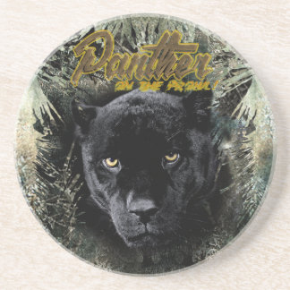"""""""Panther on the Prowl"""" Coaster"""