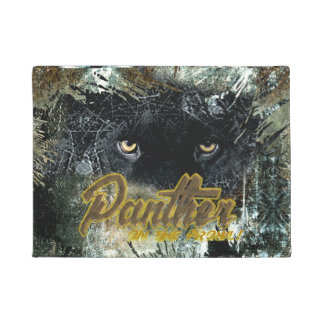 """Panther on the Prowl"" Doormat"