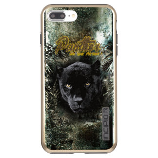 """Panther on the Prowl"" Incipio DualPro Shine iPhone 8 Plus/7 Plus Case"