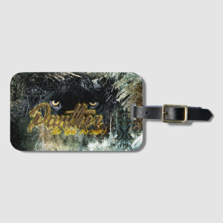"""""""Panther on the Prowl"""" Luggage Tag"""