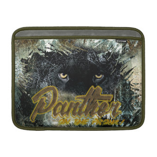 """Panther on the Prowl"" MacBook Sleeve"