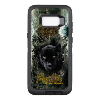 """""""Panther on the Prowl"""" OtterBox Defender Samsung Galaxy S8+ Case"""