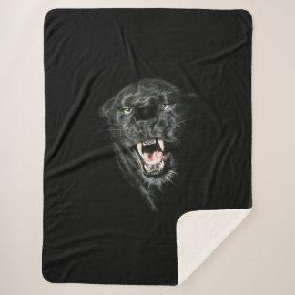 Panther Sherpa Blanket