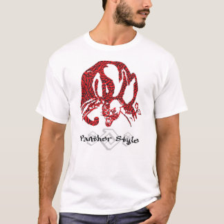 Panther Style 808 Urban Fire Red Shirts