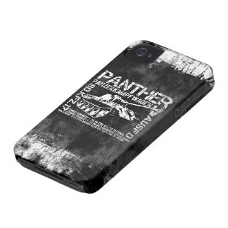 Panther Tank iPhone 4 Cover