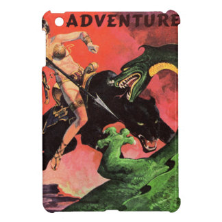 Panther vs Dinosaur Cover For The iPad Mini
