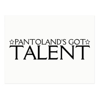Pantoland's Got Talent Postcard