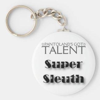 Pantoland's Got Talent Winner Prize Basic Round Button Key Ring