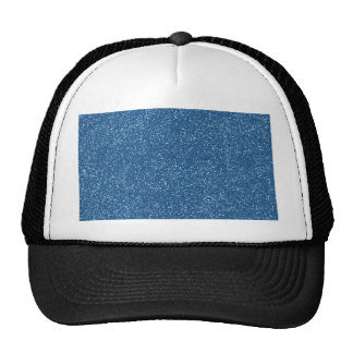 PANTONE Classic Blue with faux Glitter Mesh Hat