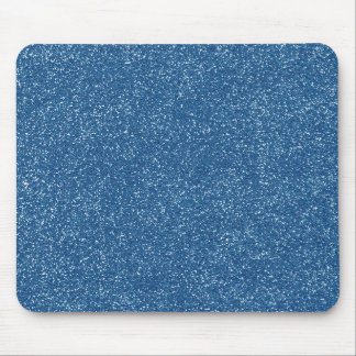 PANTONE Classic Blue with faux Glitter Mouse Pad