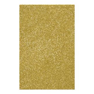 PANTONE Custard YELLOW with fine Glitter Stationery