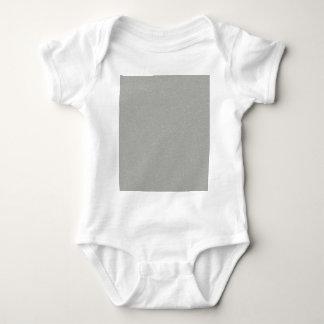 PANTONE Glacier Gray with faux fine Glitter Baby Bodysuit