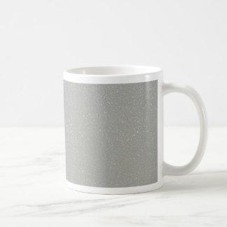 PANTONE Glacier Gray with faux fine Glitter Coffee Mug