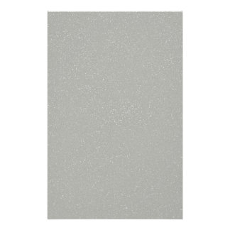 PANTONE Glacier Gray with faux fine Glitter Stationery Paper