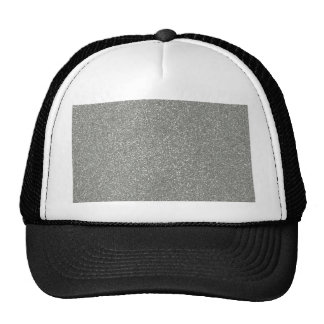 PANTONE Glacier Gray with faux Glitter Hat