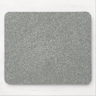 PANTONE Glacier Gray with faux Glitter Mouse Pad