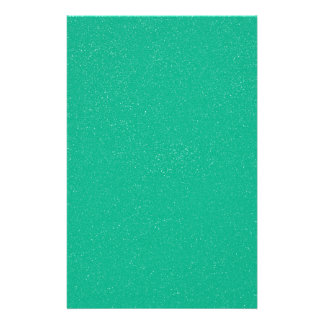 PANTONE Lucite Green with faux fine Glitter Stationery