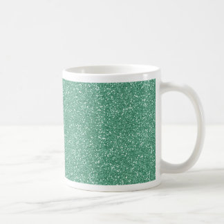 PANTONE Lucite Green with faux Glitter Coffee Mug