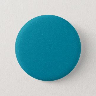 PANTONE Scuba Blue with fine faux Glitter 6 Cm Round Badge