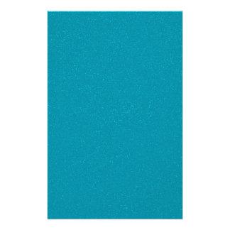 PANTONE Scuba Blue with fine faux Glitter Stationery Design