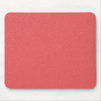 PANTONE Strawberry Ice Pink with faux fine Glitter Mouse Pad