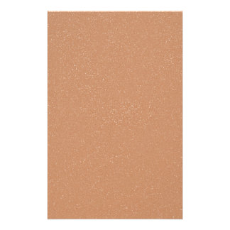 PANTONE Toasted Almond Pink with faux fine Glitter Custom Stationery