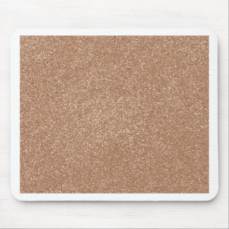 PANTONE Toasted Almond Pink with faux Glitter Mouse Pad