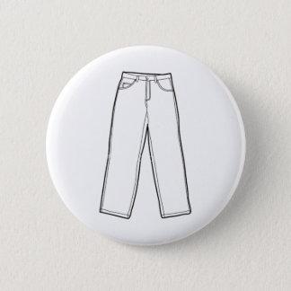 Pants 6 Cm Round Badge
