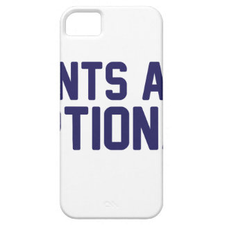 Pants Are Optional iPhone 5 Cover