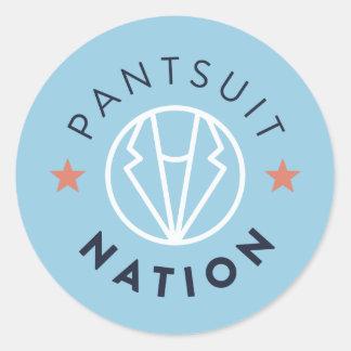 Pantsuit Nation Round Sticker