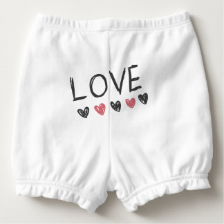 Panty Layer for Love Diapers Scribbles Nappy Cover